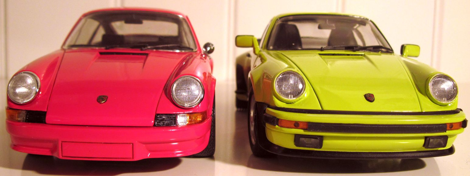 Ebbro 1:24 Porsche 1973 911RS 930 turbo 1977